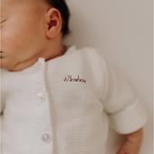 SURNOM  Quel surnom donniez-vous à votre bébé lorsque vous étiez enceinte? L'avez-vous conservé à sa naissance?  Photo @elise.bgn